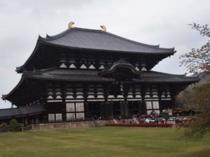 東大寺にいってきた
