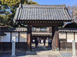 旧渋沢邸「中の家(なかんち)」門